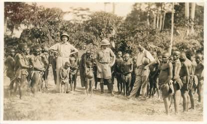 "PHOTO ORIGINALE CONGO BELGE ""Pygmées"""