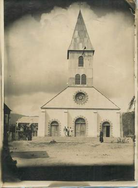 "PHOTO ORIGINALE HAITI ""Eglise à Jean-Rabel"""
