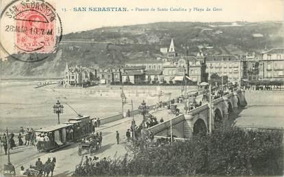 "CPA ESPAGNE ""San Sebastian"""