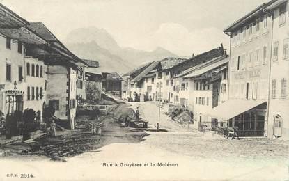 """CPA SUISSE """"Gruyères"""""""