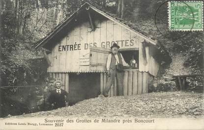 """CPA SUISSE """"Grottes de Milandre"""""""