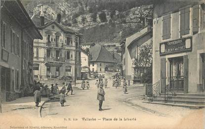 "CPA SUISSE ""Vallorbe"""