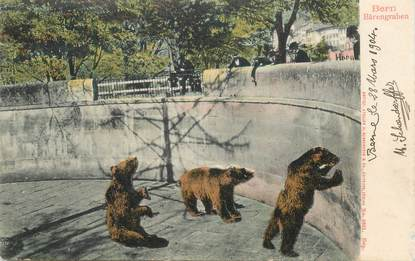 """CPA SUISSE / OURS """"Bern"""""""