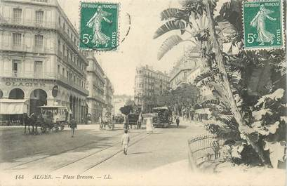 "CPA ALGERIE ""Alger, Place Bresson"""