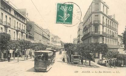 "CPA ALGERIE ""Alger, la Rue Michelet"""