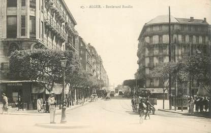 "CPA ALGERIE ""Alger, Bld Baudin"""