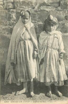 """CPA ALGERIE """"Enfants du Sud"""""""