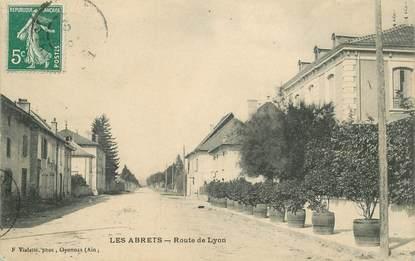 """CPA FRANCE 38 """"Les Abrets, rte de Lyon"""""""
