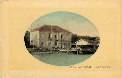 """CPA FRANCE 83 """"Hyères, Hotel Lombard"""""""