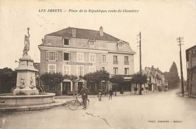 """CPA FRANCE 38 """"Les Abrets, la place de la République"""""""