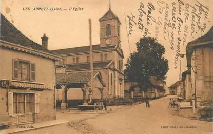 """CPA FRANCE 38 """"Les Abrets, L'Eglise"""""""
