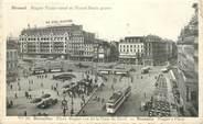 """Belgique  CPA BELGIQUE """"Bruxelles, Place Rogier vue de la gare"""""""