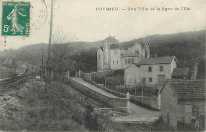 "CPA FRANCE 38 ""Crémieu"""