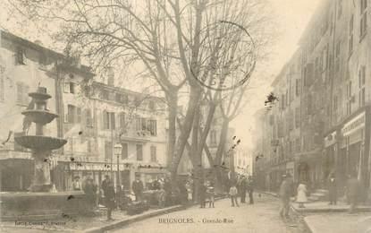 """CPA FRANCE 83 """"Brignoles, la Grande rue"""""""