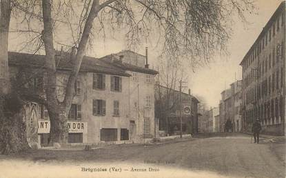 "CPA FRANCE 83 ""Brignoles, avenue Dréo"""