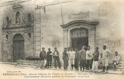 """CPA FRANCE 83 """"Brignoles, ancien chateau des Comtes de Provence"""""""