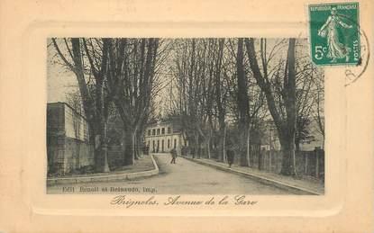 """CPA FRANCE 83 """"Brignoles, avenue de la gare"""""""