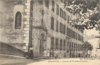 """CPA FRANCE 83 """"Brignoles, couvent des Ursulines"""""""