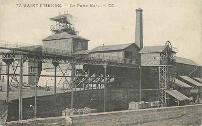 """CPA FRANCE 42 """"Saint Etienne, Mine et puits Mars"""""""