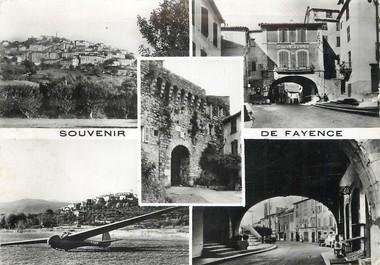 """/ CPSM FRANCE 83 """"Souvenir de Fayence"""""""
