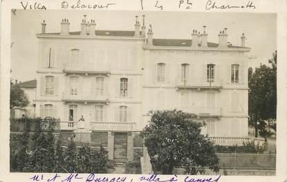 """LOT 2 CARTE PHOTO FRANCE 06 """"Cannes, villa Delacour"""""""