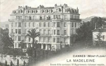 """CPA FRANCE 06 """"Cannes, villa La Madeleine"""""""