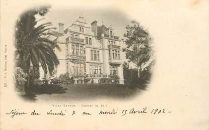 """CPA FRANCE 06 """"Cannes, villa Leusse"""""""