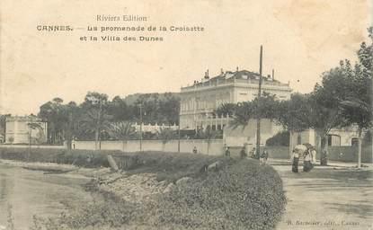 """CPA FRANCE 06 """"Cannes, villa des Dunes"""""""