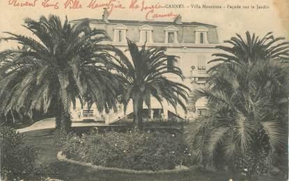 "CPA FRANCE 06 ""Cannes, villa Mauritzia"""