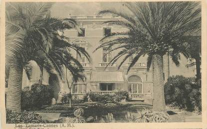 "CPA FRANCE 06 ""Cannes, villa les Tamaris"""