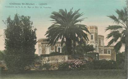"CPA FRANCE 06 ""Cannes, Chateau Saint Michel"""