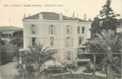 """CPA FRANCE 06 """"Cannes, Villa la Garde"""""""