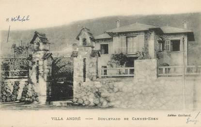 """CPA FRANCE 06 """"Cannes, Villa André, bld de Cannes Eden"""""""