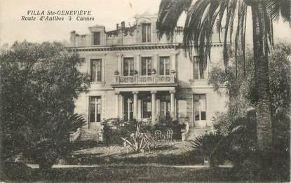 """CPA FRANCE 06 """"Cannes, Villa Sainte Geneviève, rte d'Antibes à Cannes"""""""