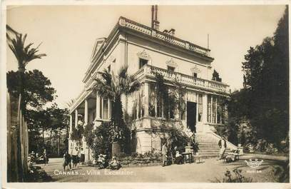 """CPA FRANCE 06 """"Cannes, Villa Excelsior"""""""