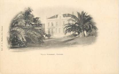 "CPA FRANCE 06 ""Cannes, Villa Pommery"""