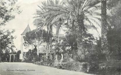 "CPA FRANCE 06 ""Cannes, Villa Chateau Garibondy"""