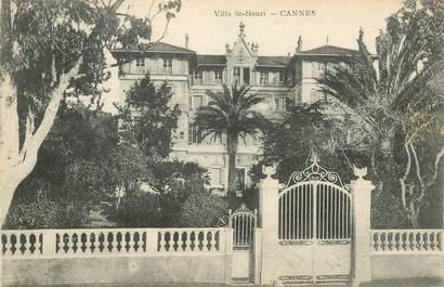 "CPA FRANCE 06 ""Cannes, Villa Saint Henri"""