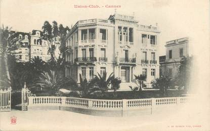 "CPA FRANCE 06 ""Cannes, Villa Union Club"""