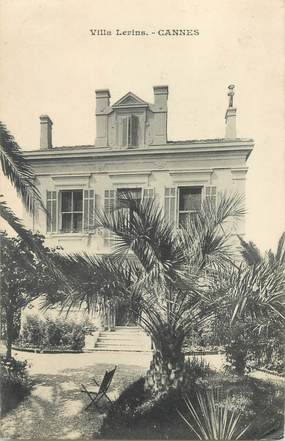 "CPA LIVRET FRANCE 06 ""Cannes, Villa Lerins"""