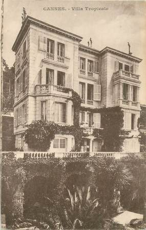 "CPA FRANCE 06 ""Cannes, Villa Tropicale"""