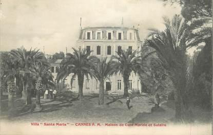 "CPA FRANCE 06 ""Cannes, Villa Santa Maria"""