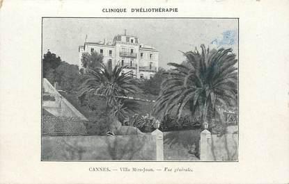 "CPA FRANCE 06 ""Cannes, Villa Mire Juan"""