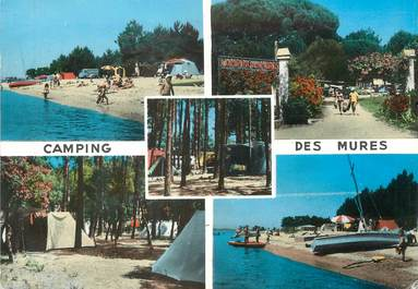 "/ CPSM FRANCE 83 ""Grimaud, camping des mûres"""