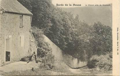"""CPA  BELGIQUE """"Bords de la Meuse, le Charot près de Waulsort"""""""