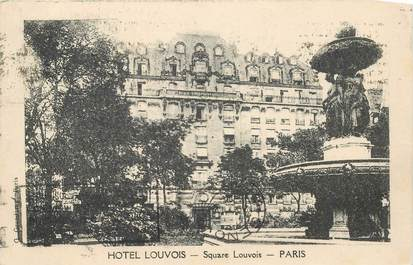 "CPA FRANCE 75002 ""Paris, Hotel Louvois"""