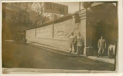 "CARTE PHOTO FRANCE 06 ""Cannes, le garage BUGATTI, rue Raphaele"""