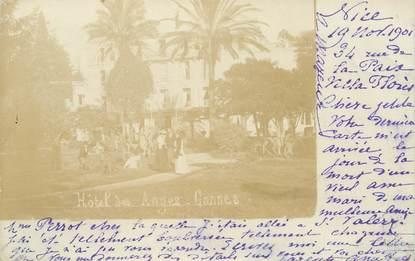 "CARTE PHOTO FRANCE 06 ""Cannes, Hotel des Anges"""
