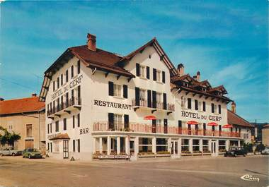 """CPSM FRANCE 39 """"Pont du Navoy, Hotel Restaurant du Cerf"""""""