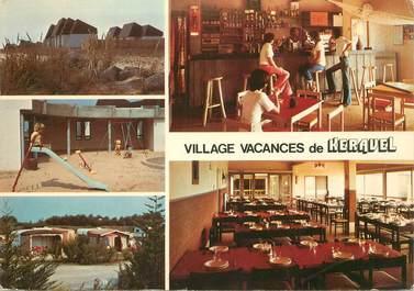 """CPSM FRANCE 56 """"Erdeven, village de vacances Keravel"""""""